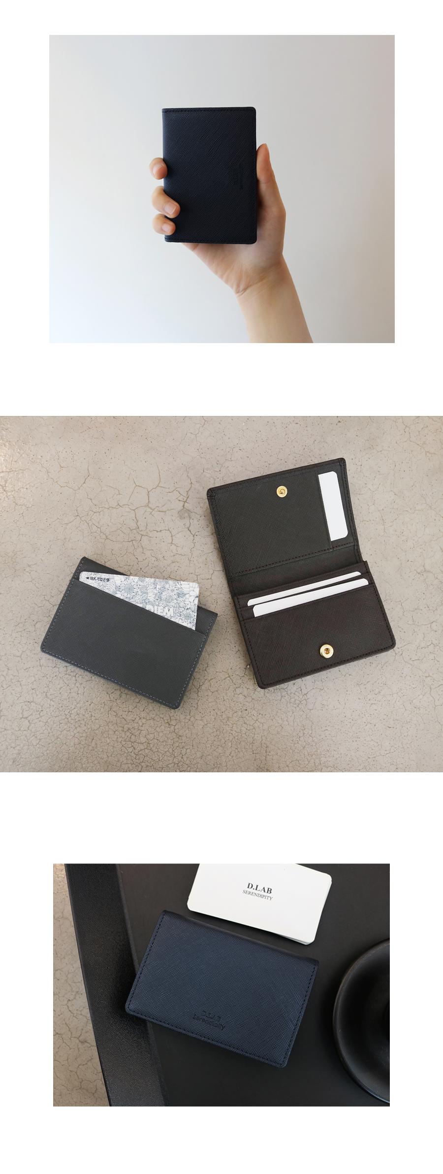 디랩(D.LAB) Basic Leather Namecard wallet -3 colors/ 명함지갑