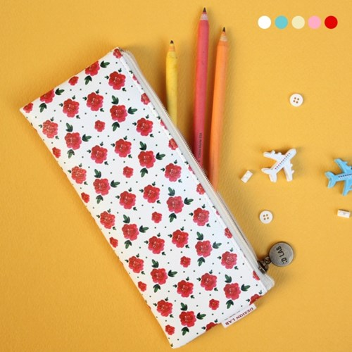 D.LAB Flower pattern pencilcase - 5 type - 디랩 D.LAB