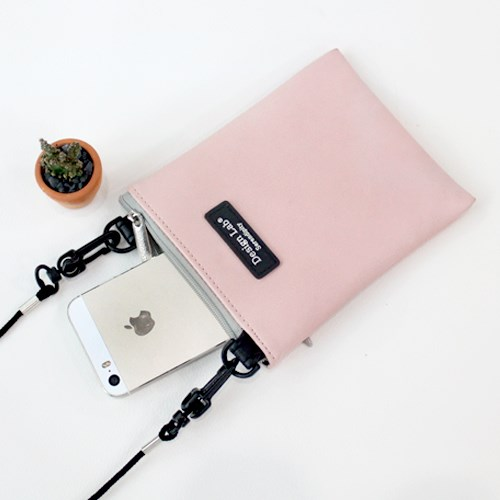 D.LAB MINI POUCH Solid color - 6 color - 디랩 D.LAB
