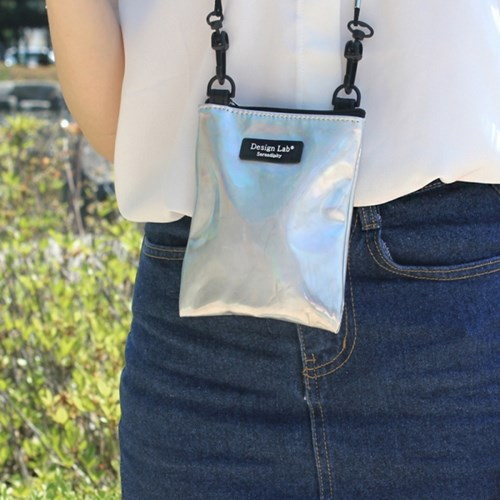 D.LAB MINI POUCH Hologram - 2 color - 디랩 D.LAB