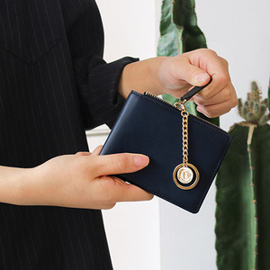 D.LAB Coin Half wallet  - Navy - 디랩 D.LAB