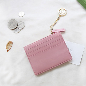 D.LAB Coin simple card wallet - Pink - 디랩 D.LAB