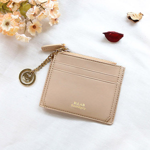 D.LAB Coin simple card wallet - Beige - 디랩 D.LAB