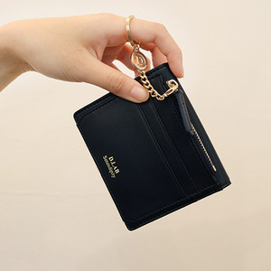 D.LAB Coin name card wallet  - Navy - 디랩 D.LAB