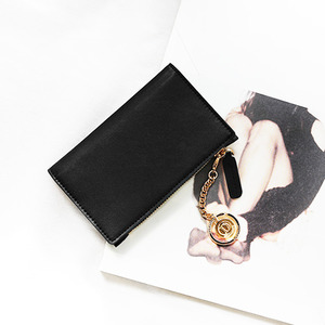 D.LAB Coin card wallet - Black - 디랩 D.LAB