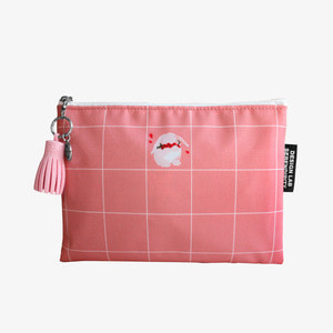 D.LAB NY Pouch - 부끄럼쟁이 토끼+테슬 Pink - 디랩 D.LAB