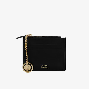 D.LAB Coin simple card wallet - Black - 디랩 D.LAB