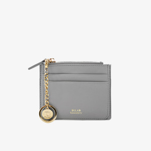 D.LAB Coin simple card wallet - Gray - 디랩 D.LAB