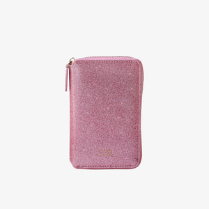D.LAB Twinkle Zipper Wallet - Pink - 디랩 D.LAB